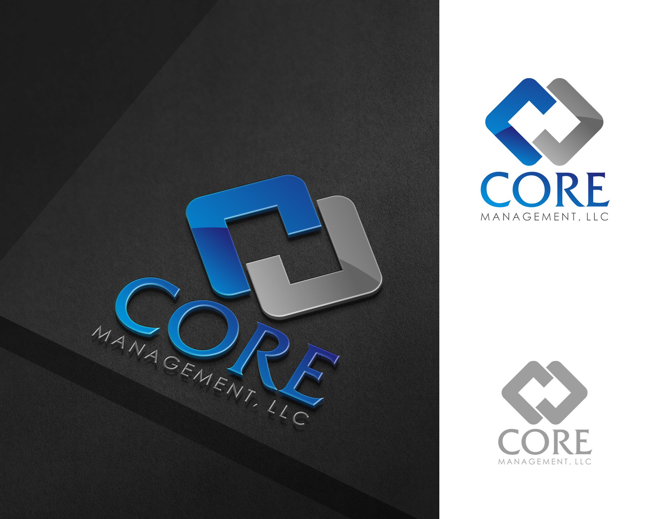 Logo Design by Yudi Aswanto - Entry No. 218 in the Logo Design Contest Creative Logo Design for CORE Management, LLC.