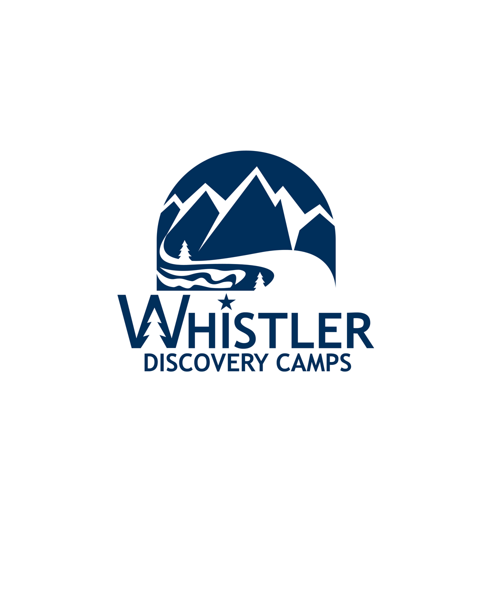 Logo Design by Private User - Entry No. 160 in the Logo Design Contest Captivating Logo Design for Whistler Discovery Camps.