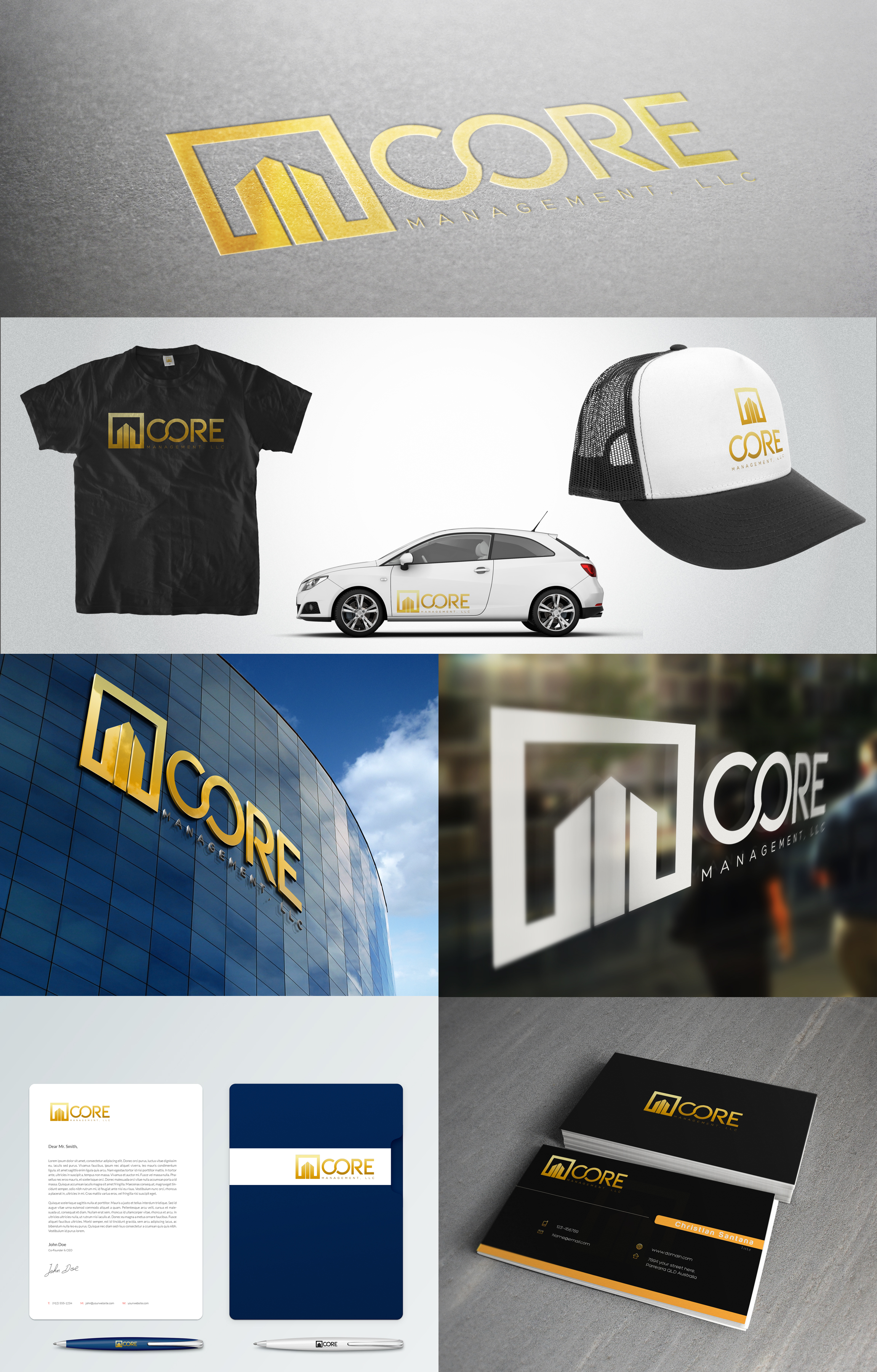 Logo Design by olii - Entry No. 229 in the Logo Design Contest Creative Logo Design for CORE Management, LLC.