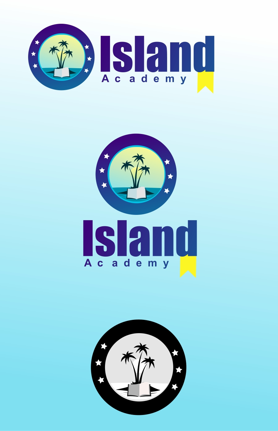 Logo Design by Private User - Entry No. 9 in the Logo Design Contest New Logo Design for Island Academy.