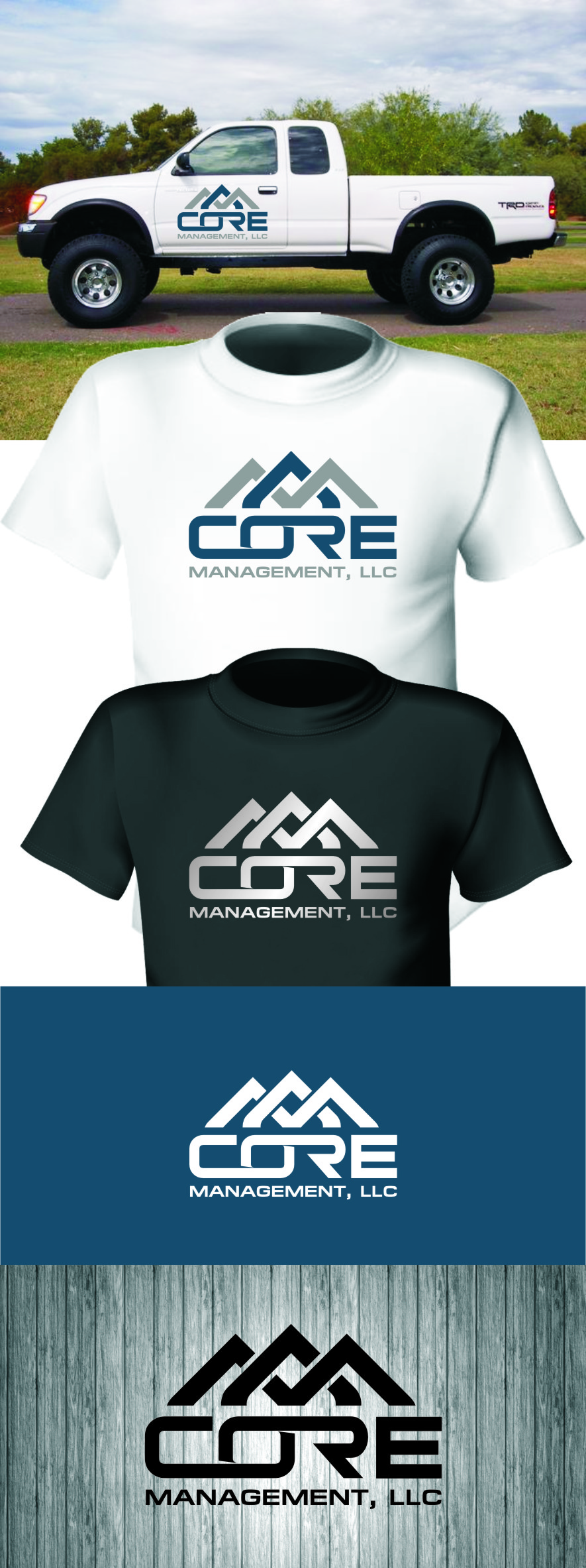Logo Design by Ngepet_art - Entry No. 234 in the Logo Design Contest Creative Logo Design for CORE Management, LLC.
