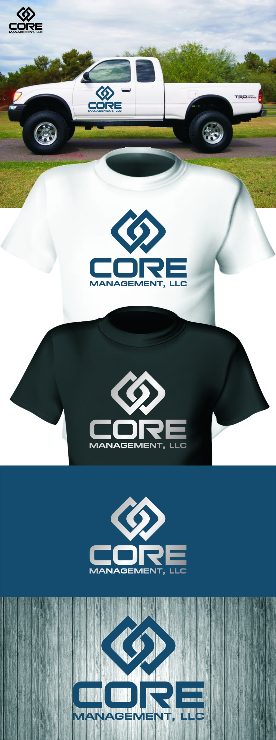 Logo Design by RasYa Muhammad Athaya - Entry No. 235 in the Logo Design Contest Creative Logo Design for CORE Management, LLC.