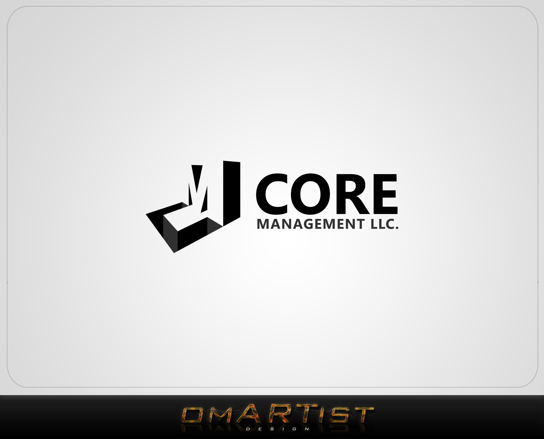 Logo Design by omARTist - Entry No. 236 in the Logo Design Contest Creative Logo Design for CORE Management, LLC.