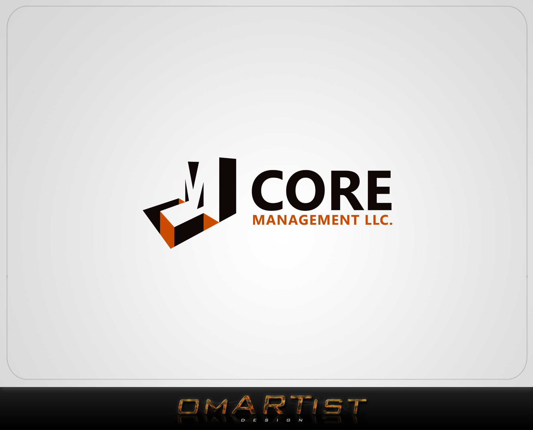 Logo Design by omARTist - Entry No. 237 in the Logo Design Contest Creative Logo Design for CORE Management, LLC.