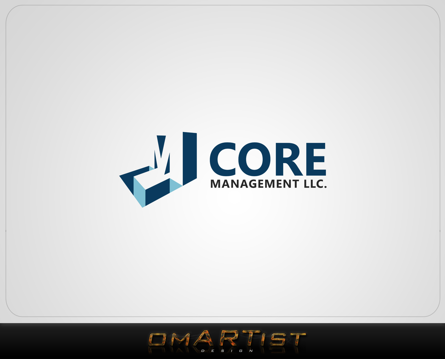 Logo Design by omARTist - Entry No. 239 in the Logo Design Contest Creative Logo Design for CORE Management, LLC.