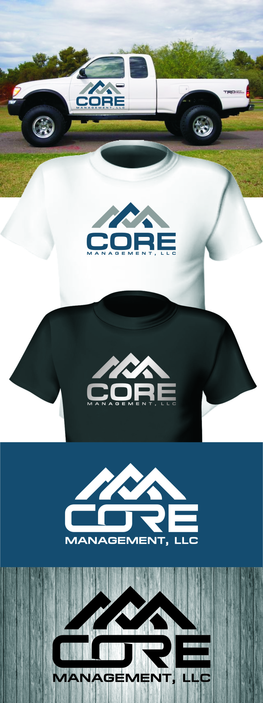 Logo Design by Ngepet_art - Entry No. 244 in the Logo Design Contest Creative Logo Design for CORE Management, LLC.