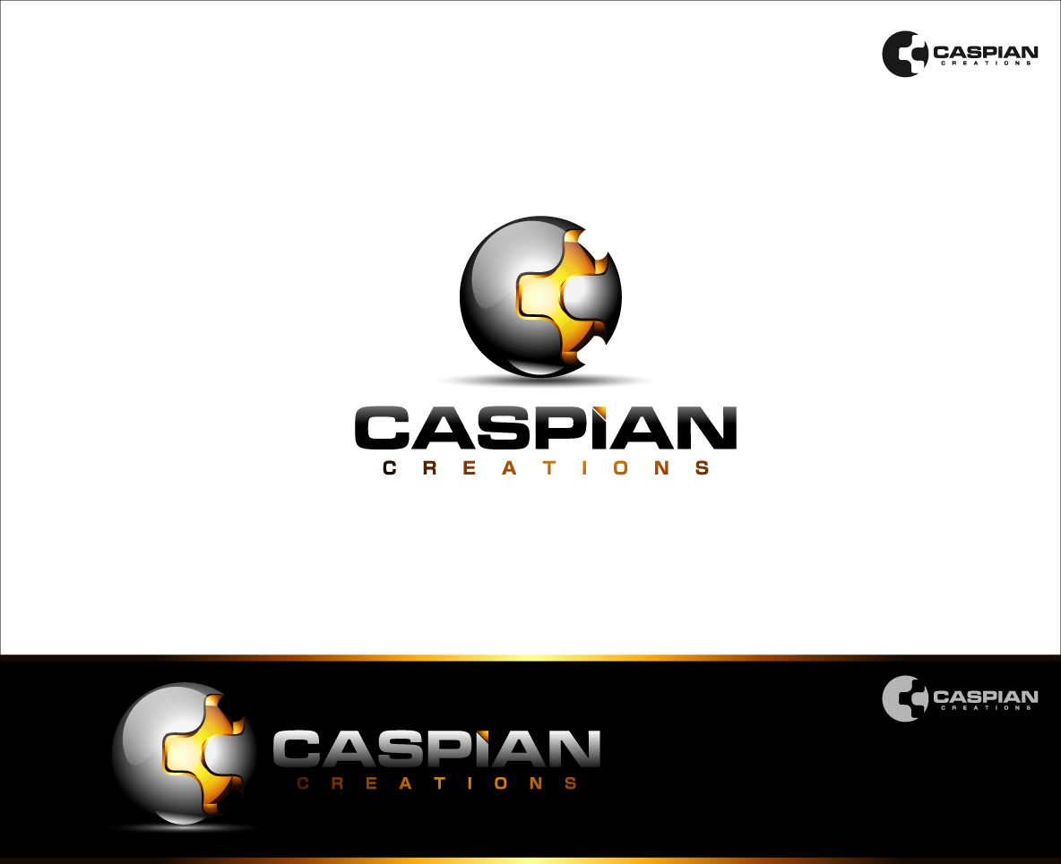 Logo Design by zoiDesign - Entry No. 43 in the Logo Design Contest Creative Logo Design for Caspian Creations.