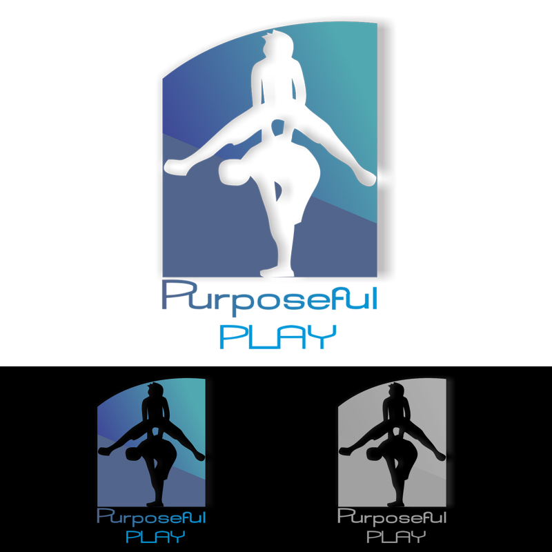Logo Design by Marieta Naumova - Entry No. 7 in the Logo Design Contest Purposeful PLAY Logo Design.