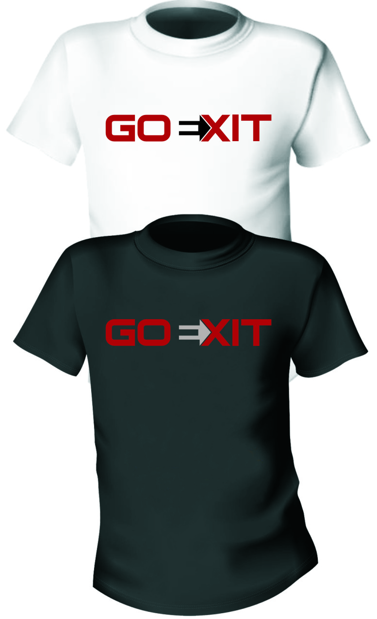 Logo Design by Ngepet_art - Entry No. 2 in the Logo Design Contest GoExit Logo Design.