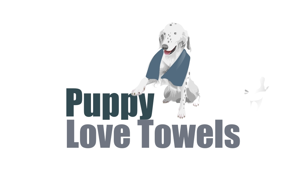 Logo Design by Private User - Entry No. 1 in the Logo Design Contest Artistic Logo Design for Puppy Love Towels.