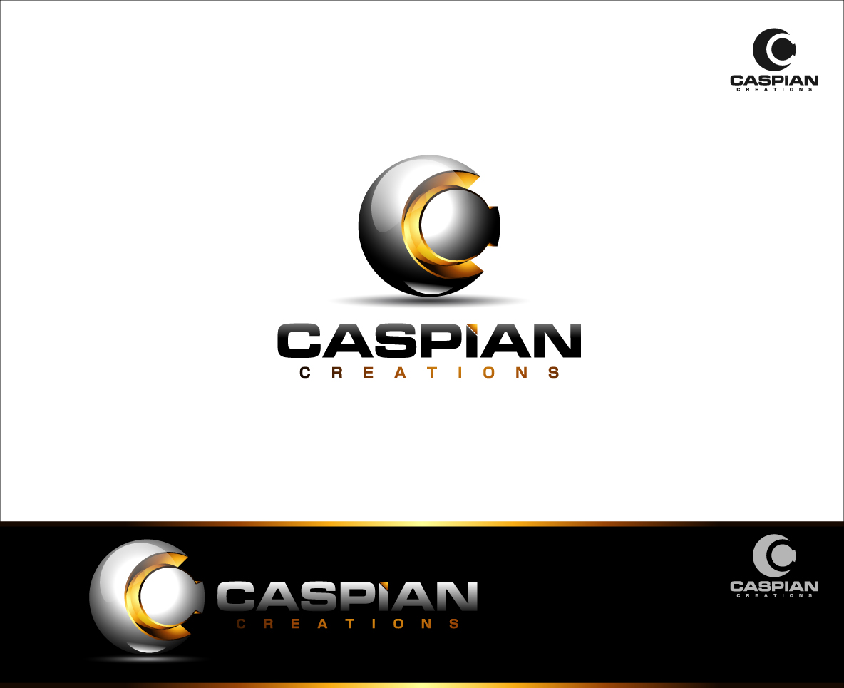 Logo Design by zoiDesign - Entry No. 44 in the Logo Design Contest Creative Logo Design for Caspian Creations.