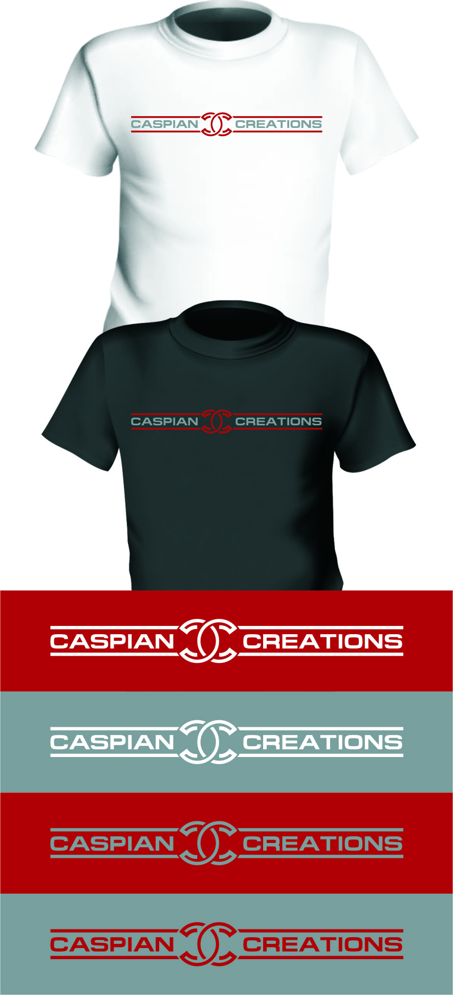 Logo Design by Ngepet_art - Entry No. 47 in the Logo Design Contest Creative Logo Design for Caspian Creations.