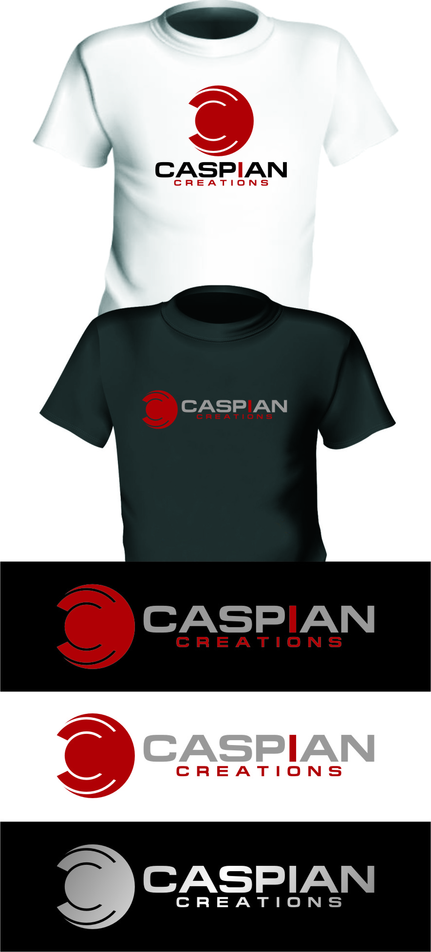 Logo Design by Ngepet_art - Entry No. 50 in the Logo Design Contest Creative Logo Design for Caspian Creations.