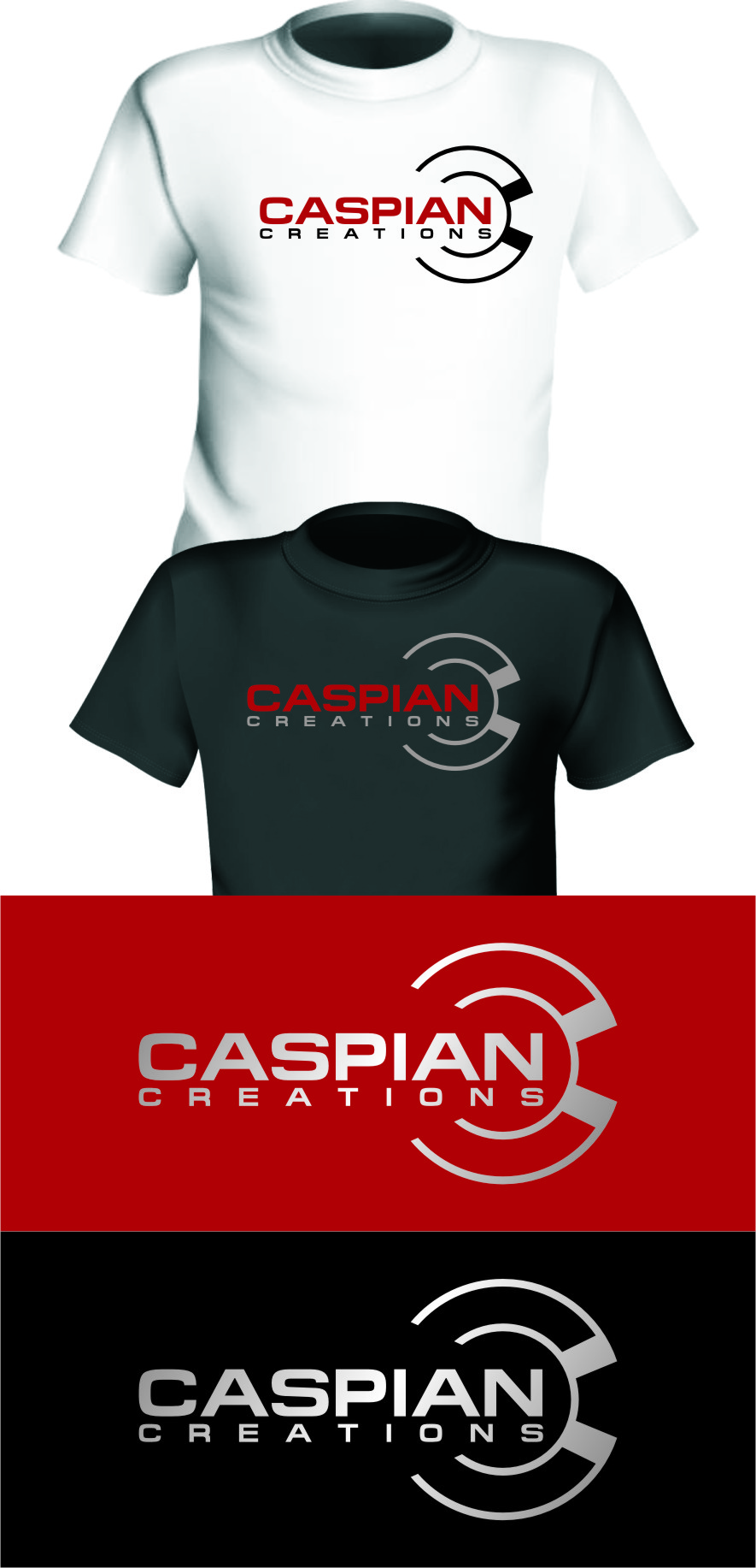 Logo Design by Ngepet_art - Entry No. 52 in the Logo Design Contest Creative Logo Design for Caspian Creations.