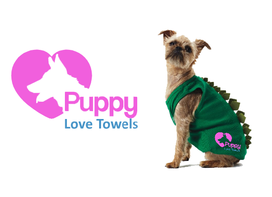 Logo Design by Ismail Adhi Wibowo - Entry No. 2 in the Logo Design Contest Artistic Logo Design for Puppy Love Towels.