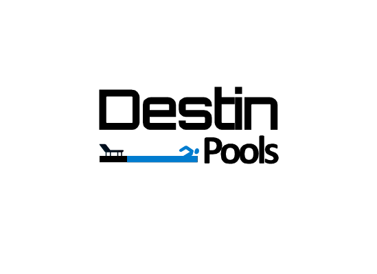 Logo Design by Ismail Adhi Wibowo - Entry No. 2 in the Logo Design Contest Fun Logo Design for Destin Pools.