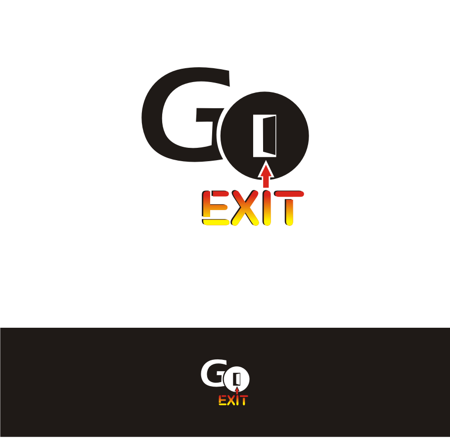 Logo Design by Nthus Nthis - Entry No. 7 in the Logo Design Contest GoExit Logo Design.
