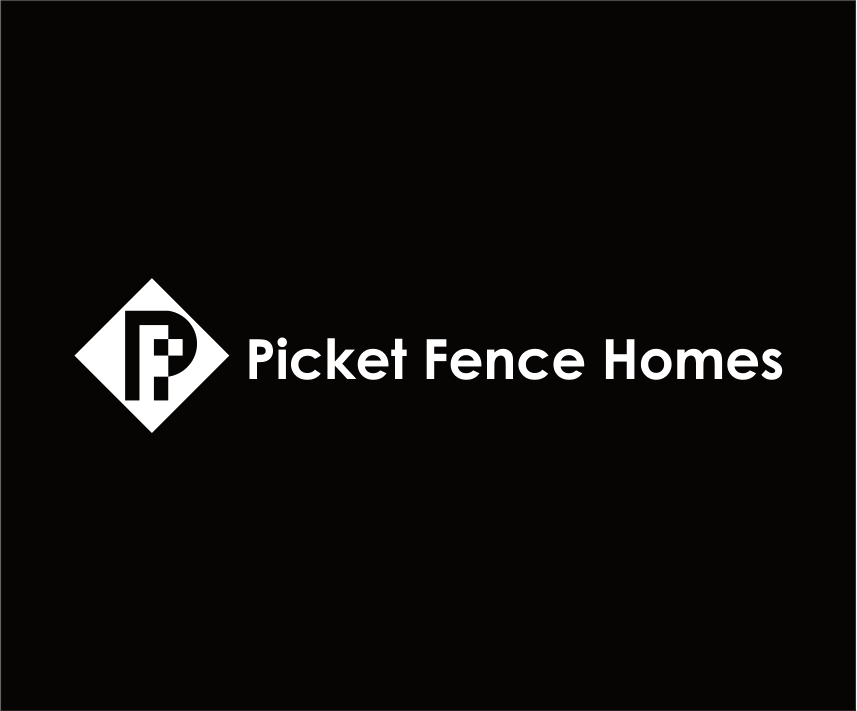 Logo Design by Armada Jamaluddin - Entry No. 16 in the Logo Design Contest Picket Fence Homes Logo Design.