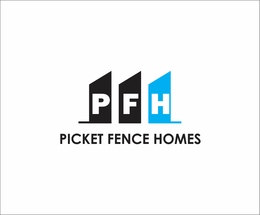 Logo Design by Armada Jamaluddin - Entry No. 18 in the Logo Design Contest Picket Fence Homes Logo Design.