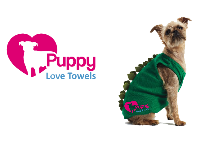 Logo Design by Ismail Adhi Wibowo - Entry No. 3 in the Logo Design Contest Artistic Logo Design for Puppy Love Towels.