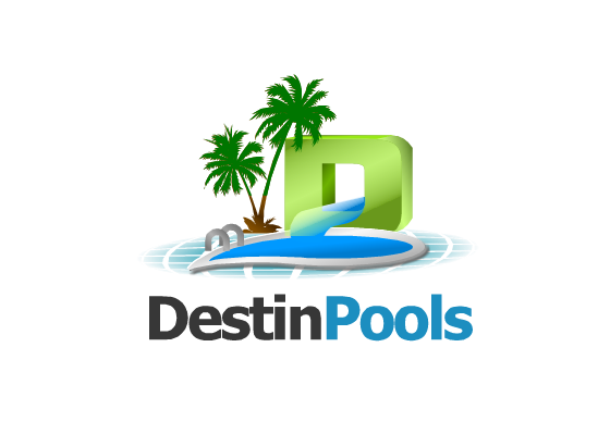 Logo Design by Ismail Adhi Wibowo - Entry No. 4 in the Logo Design Contest Fun Logo Design for Destin Pools.