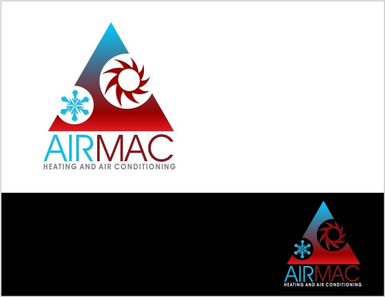 Logo Design by Private User - Entry No. 19 in the Logo Design Contest Unique Logo Design Wanted for Air Mac.