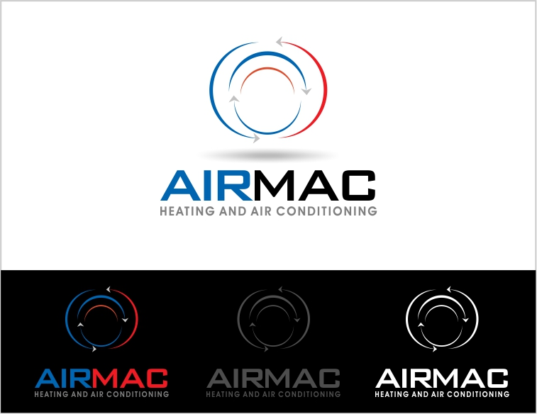 Logo Design by Private User - Entry No. 20 in the Logo Design Contest Unique Logo Design Wanted for Air Mac.