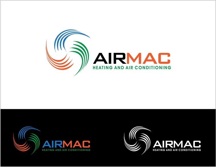 Logo Design by Private User - Entry No. 21 in the Logo Design Contest Unique Logo Design Wanted for Air Mac.