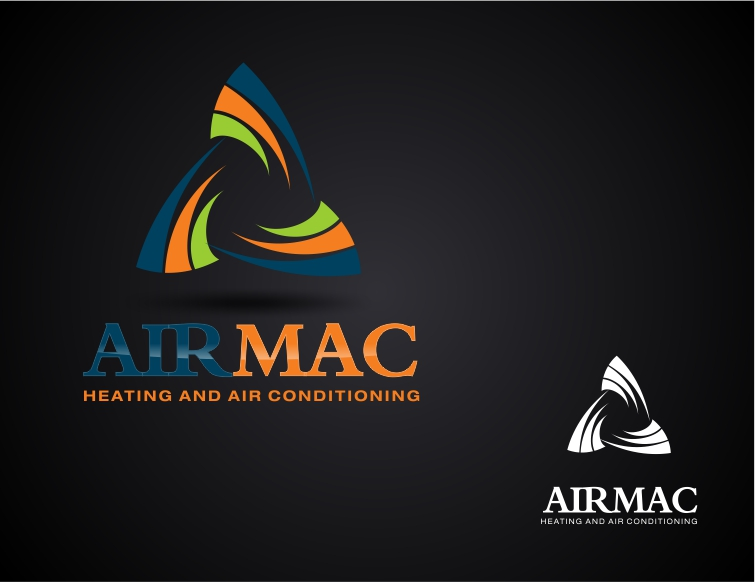 Logo Design by Private User - Entry No. 23 in the Logo Design Contest Unique Logo Design Wanted for Air Mac.