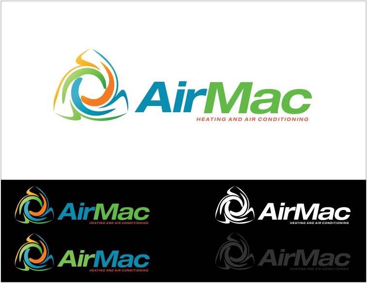 Logo Design by Private User - Entry No. 24 in the Logo Design Contest Unique Logo Design Wanted for Air Mac.