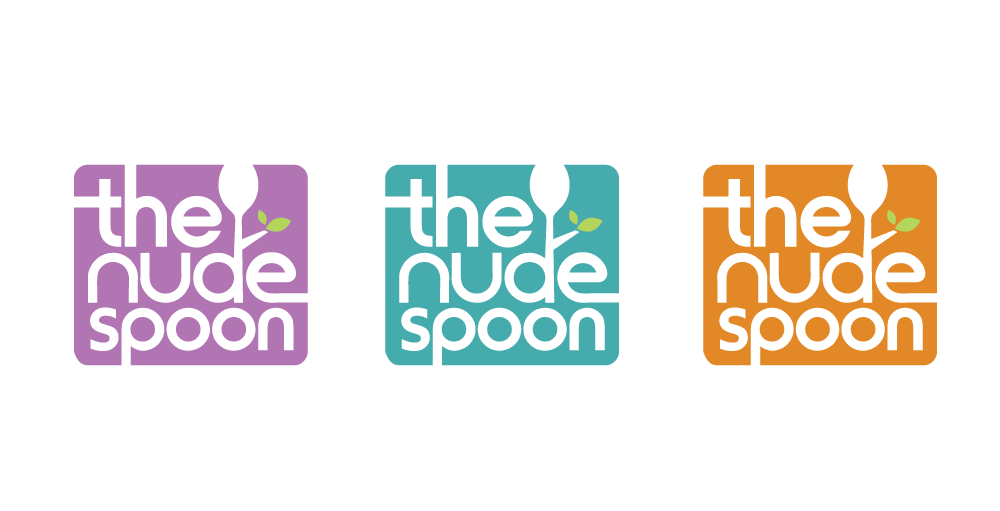 Logo Design by Christina Evans - Entry No. 24 in the Logo Design Contest Captivating Logo Design for The Nude Spoon.