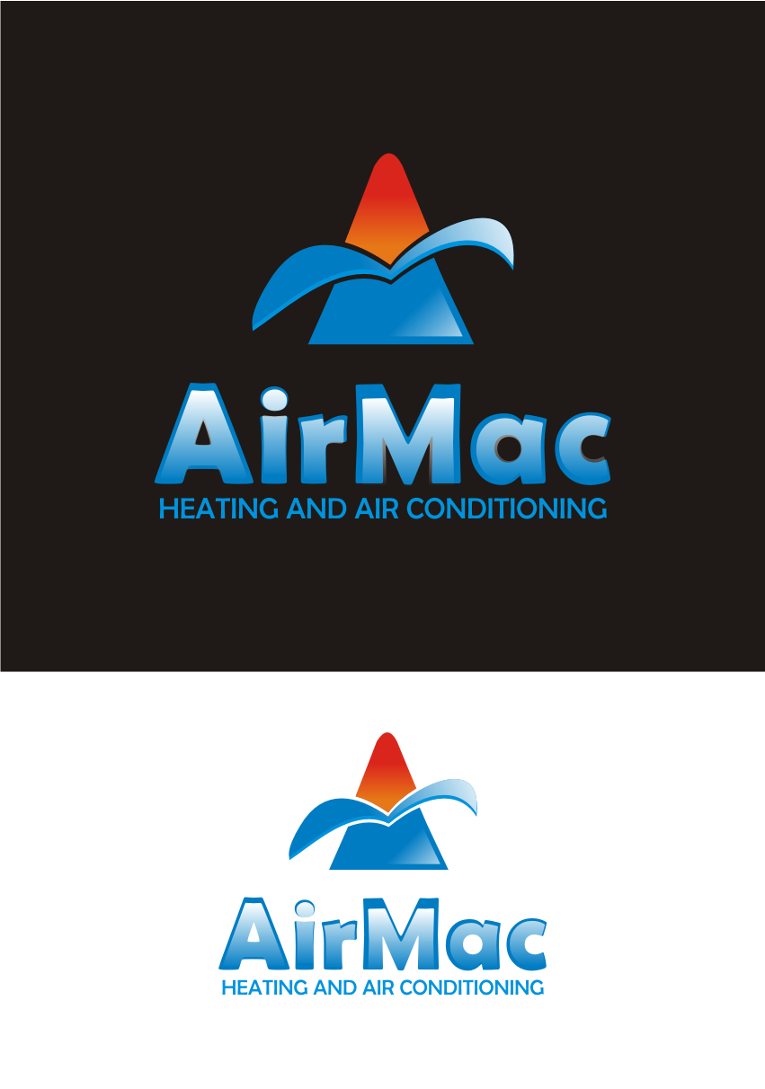 Logo Design by Nthus Nthis - Entry No. 29 in the Logo Design Contest Unique Logo Design Wanted for Air Mac.