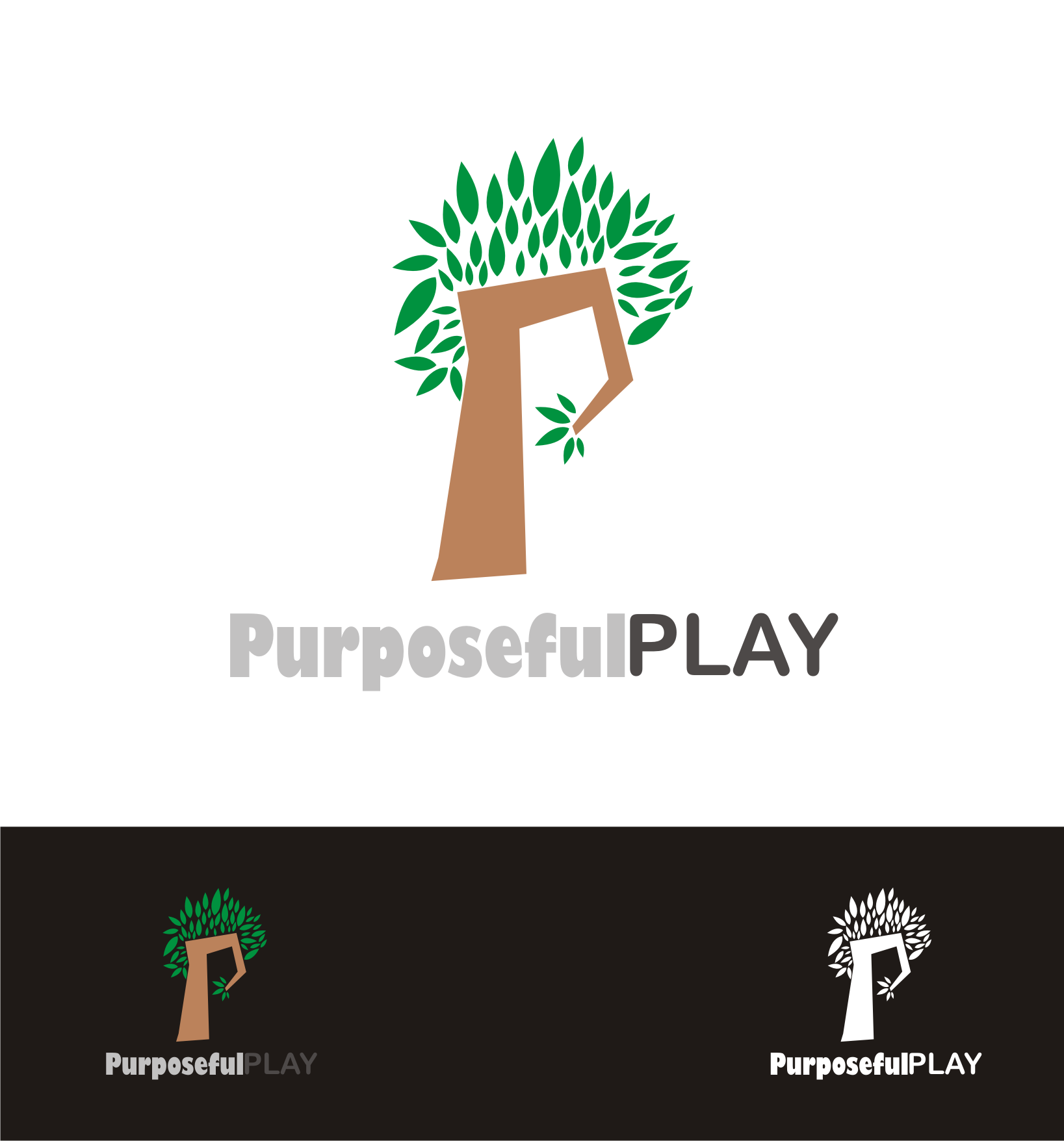 Logo Design by Nthus Nthis - Entry No. 12 in the Logo Design Contest Purposeful PLAY Logo Design.