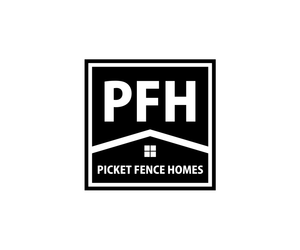 Logo Design by untung - Entry No. 37 in the Logo Design Contest Picket Fence Homes Logo Design.