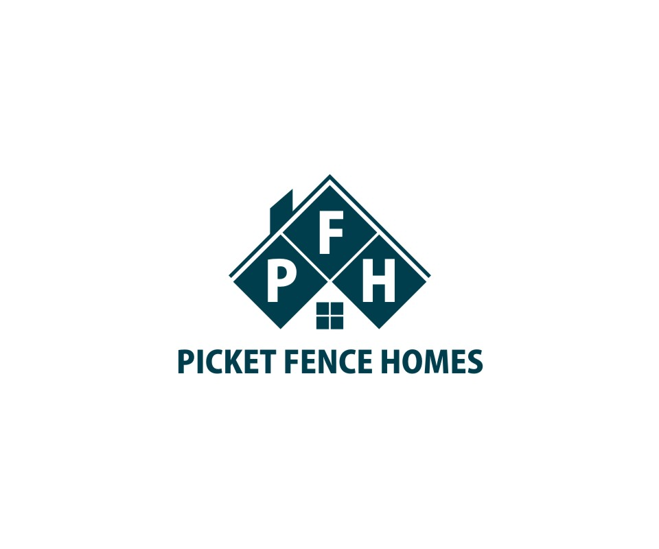 Logo Design by untung - Entry No. 40 in the Logo Design Contest Picket Fence Homes Logo Design.