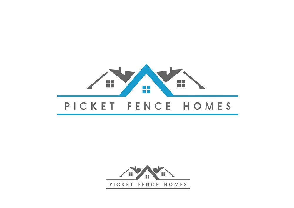 Logo Design by Respati Himawan - Entry No. 45 in the Logo Design Contest Picket Fence Homes Logo Design.