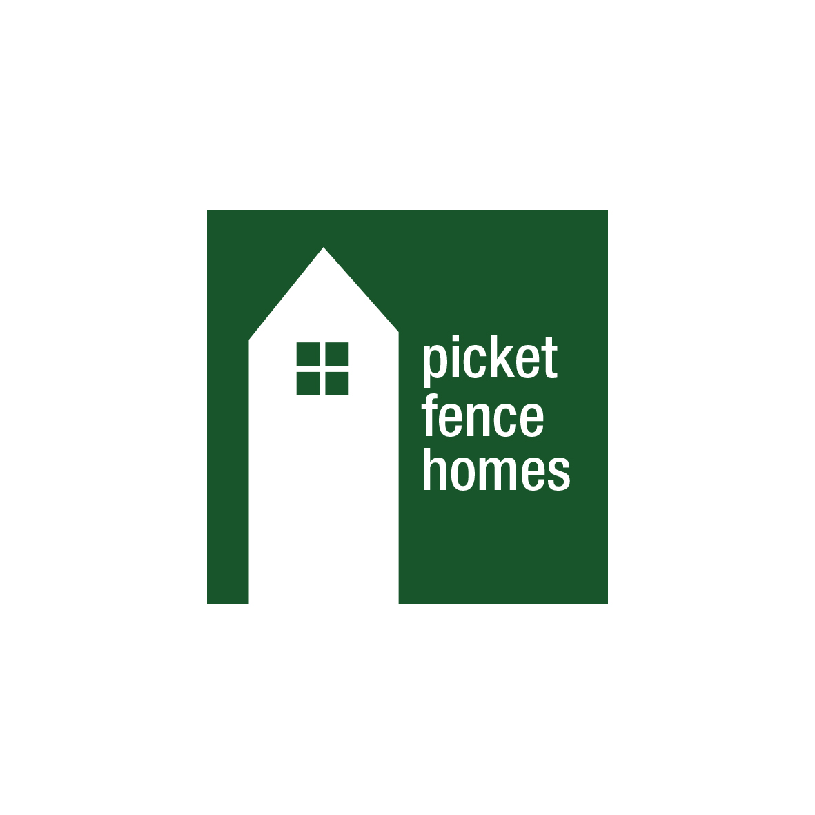 Logo Design by Private User - Entry No. 49 in the Logo Design Contest Picket Fence Homes Logo Design.
