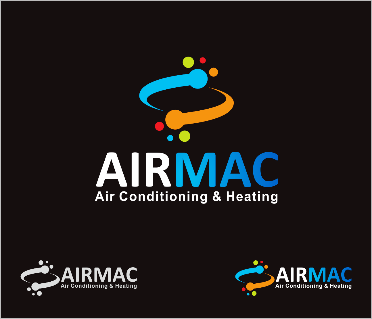 Logo Design by Armada Jamaluddin - Entry No. 35 in the Logo Design Contest Unique Logo Design Wanted for Air Mac.