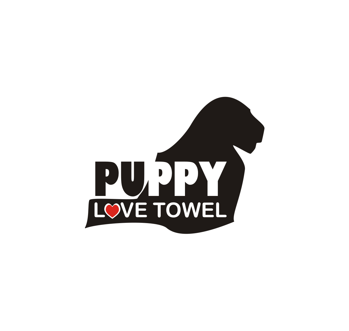 Logo Design by Nthus Nthis - Entry No. 7 in the Logo Design Contest Artistic Logo Design for Puppy Love Towels.