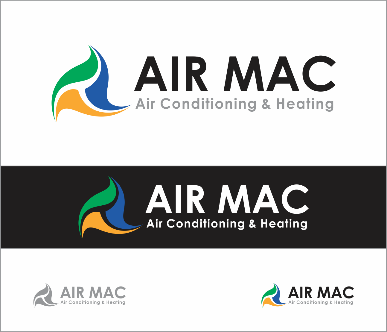 Logo Design by Armada Jamaluddin - Entry No. 37 in the Logo Design Contest Unique Logo Design Wanted for Air Mac.