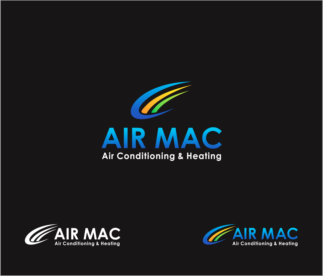 Logo Design by Armada Jamaluddin - Entry No. 38 in the Logo Design Contest Unique Logo Design Wanted for Air Mac.