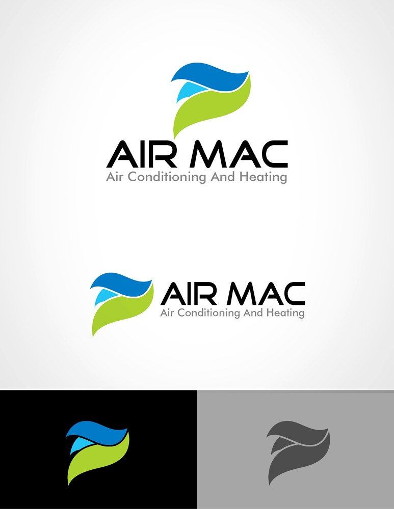 Logo Design by Respati Himawan - Entry No. 43 in the Logo Design Contest Unique Logo Design Wanted for Air Mac.