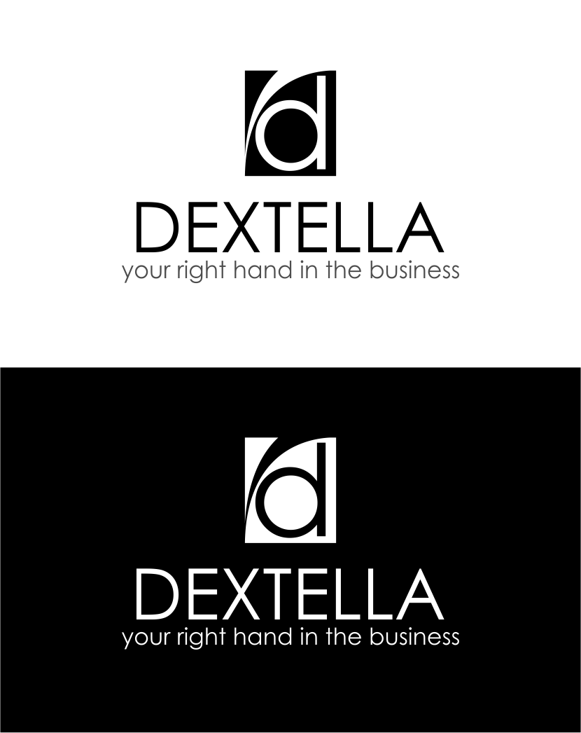 Logo Design by Agus Martoyo - Entry No. 36 in the Logo Design Contest Unique Logo Design Wanted for Dextella s.r.o..