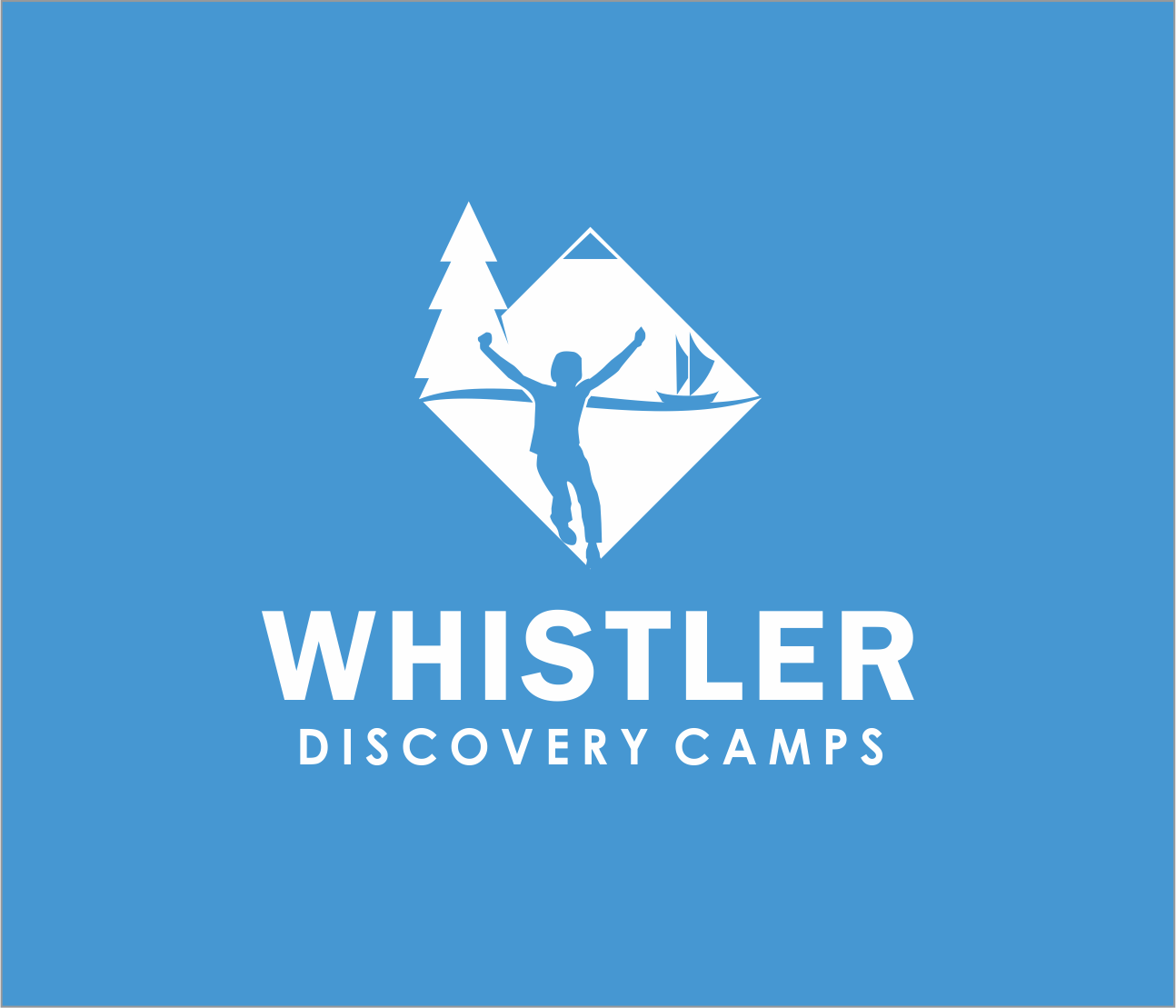 Logo Design by Armada Jamaluddin - Entry No. 172 in the Logo Design Contest Captivating Logo Design for Whistler Discovery Camps.