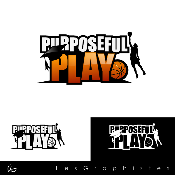 Logo Design by Les-Graphistes - Entry No. 19 in the Logo Design Contest Purposeful PLAY Logo Design.
