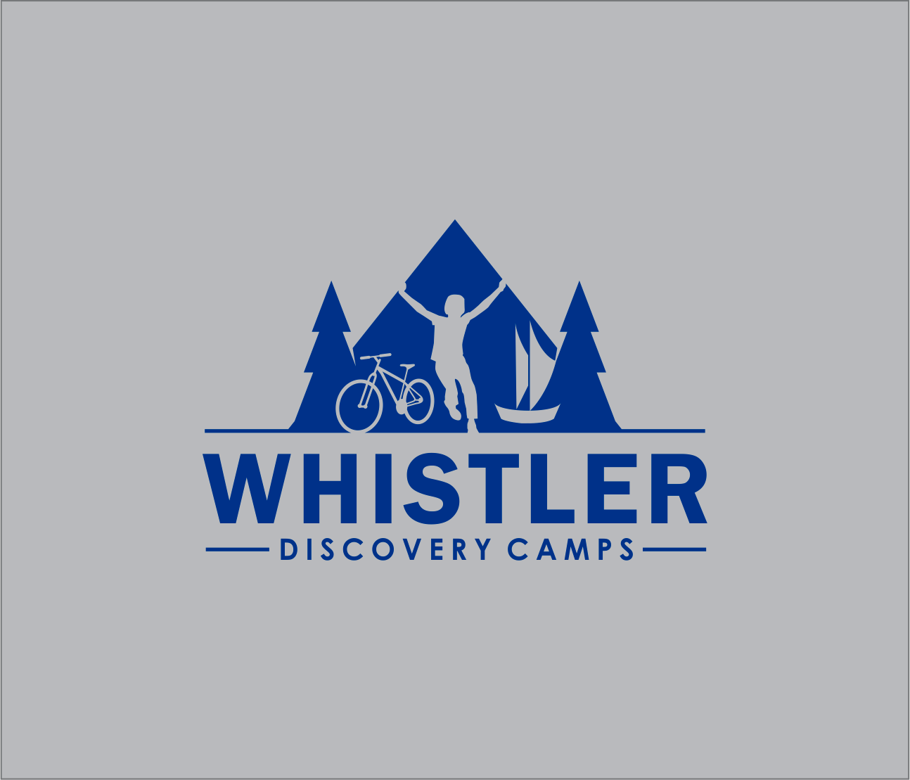 Logo Design by Armada Jamaluddin - Entry No. 173 in the Logo Design Contest Captivating Logo Design for Whistler Discovery Camps.