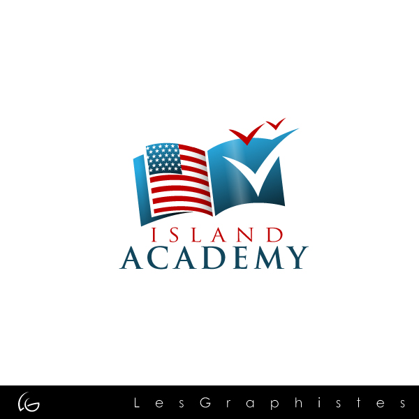 Logo Design by Les-Graphistes - Entry No. 26 in the Logo Design Contest New Logo Design for Island Academy.
