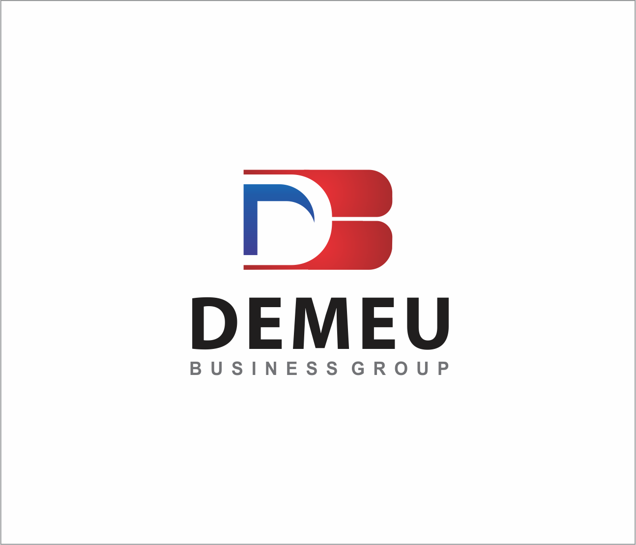 Logo Design by Armada Jamaluddin - Entry No. 159 in the Logo Design Contest Captivating Logo Design for DEMEU Business Group.