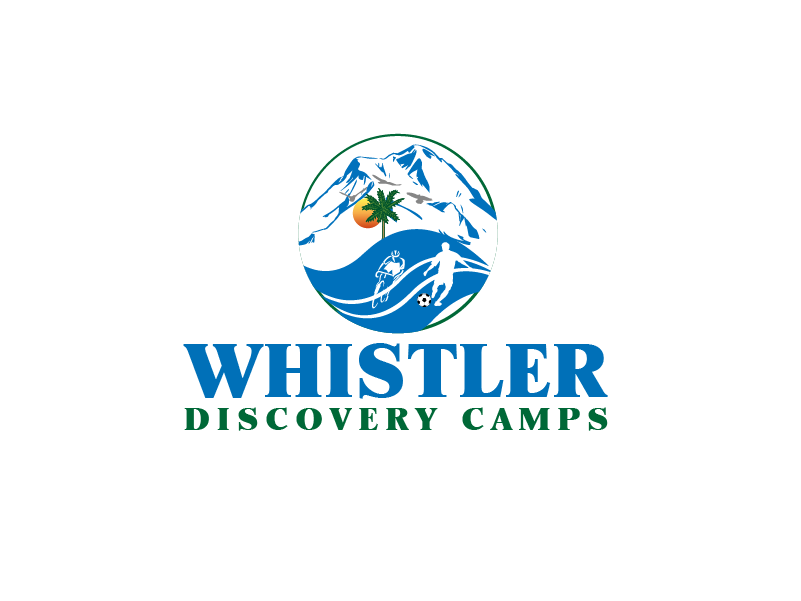 Logo Design by Private User - Entry No. 174 in the Logo Design Contest Captivating Logo Design for Whistler Discovery Camps.