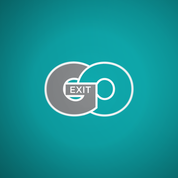 Logo Design by Private User - Entry No. 11 in the Logo Design Contest GoExit Logo Design.